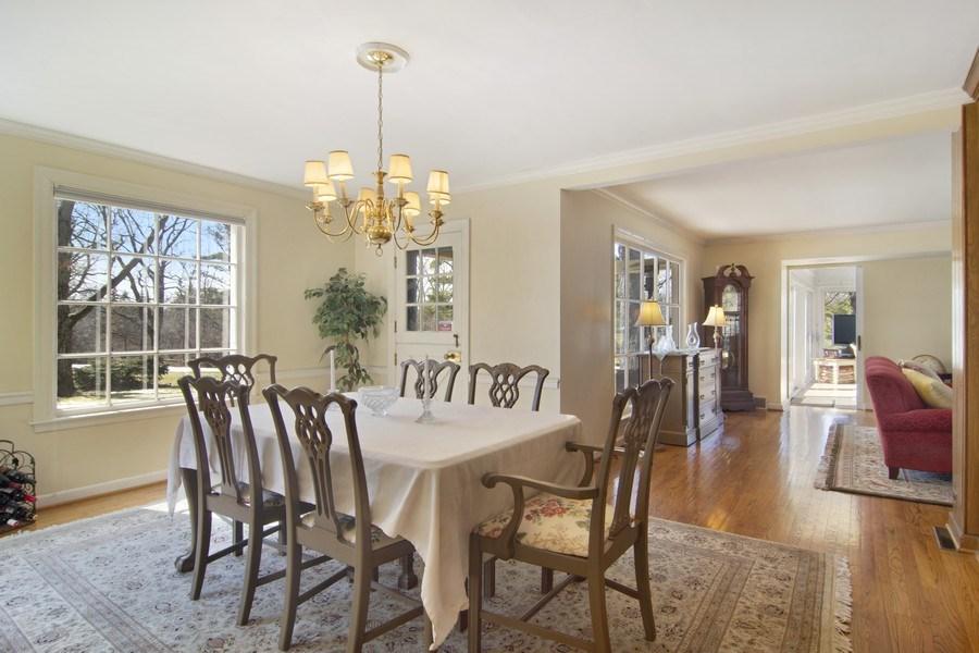 Real Estate Photography - 350 Cumnock Road, Inverness, IL, 60067 - Dining Room