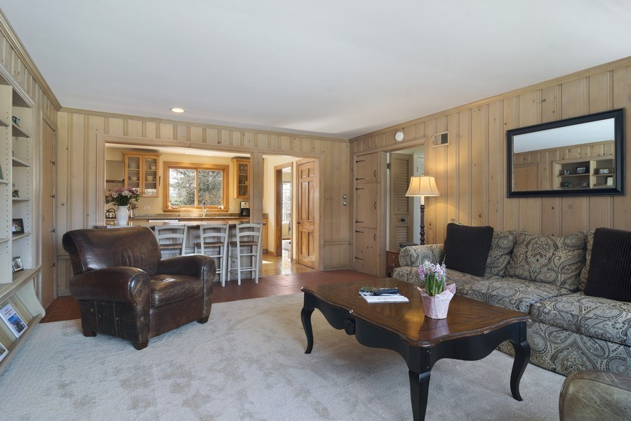 Real Estate Photography - 350 Cumnock Road, Inverness, IL, 60067 - Family Room / Kitchen