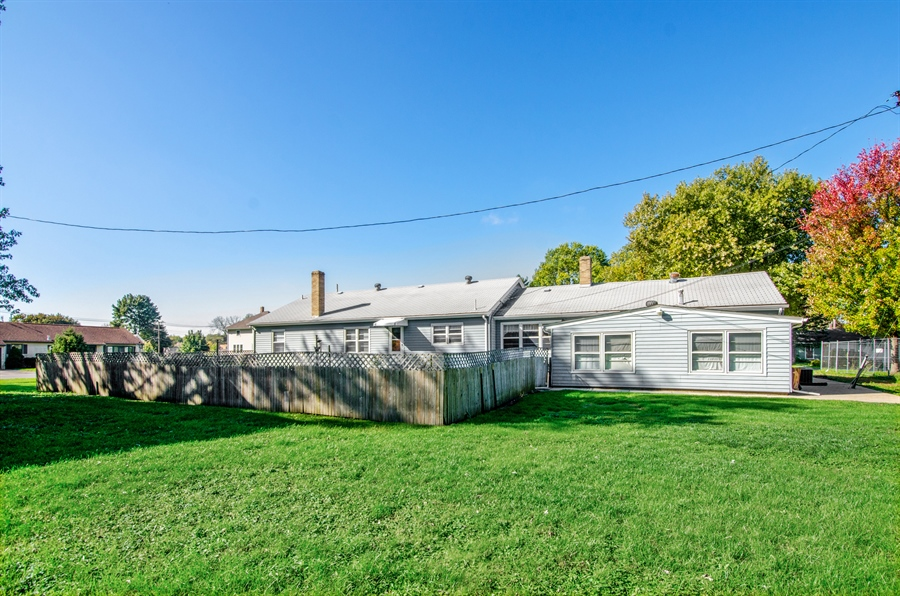 Real Estate Photography - 100 Carpenter Boulevard, Carpentersville, IL, 60110 - Rear View