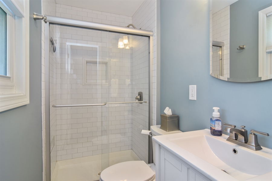 Real Estate Photography - 234 N. Norman Drive, Palatine, IL, 60074 - Master Bathroom