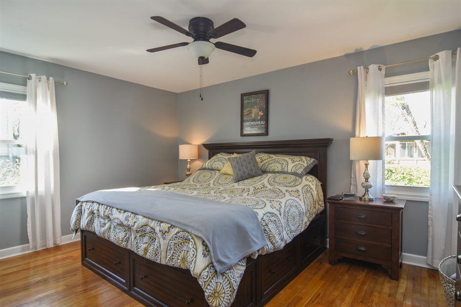 Real Estate Photography - 234 N. Norman Drive, Palatine, IL, 60074 - Master Bedroom