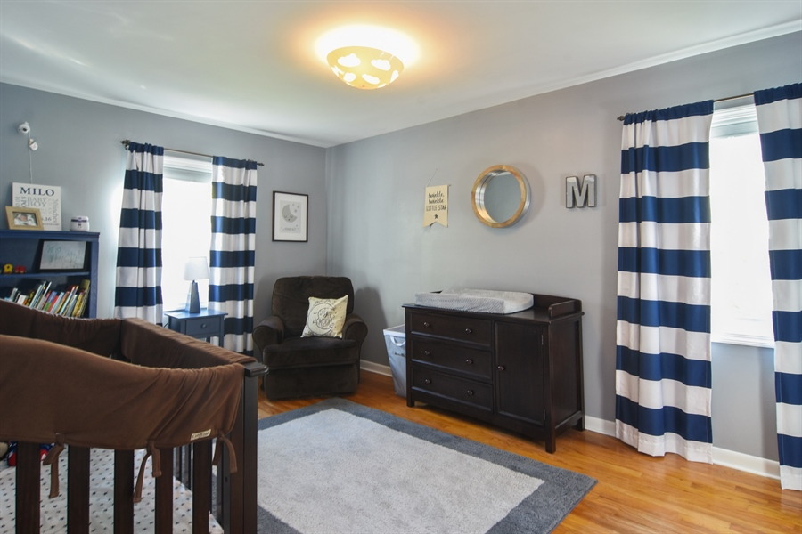 Real Estate Photography - 234 N. Norman Drive, Palatine, IL, 60074 - 2nd Bedroom