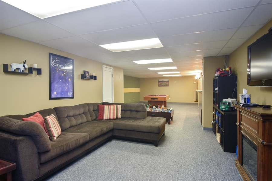 Real Estate Photography - 234 N. Norman Drive, Palatine, IL, 60074 - Lower Level