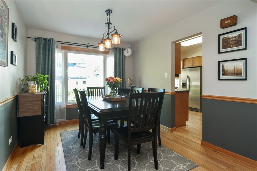 Real Estate Photography - 234 N. Norman Drive, Palatine, IL, 60074 - Dining Room