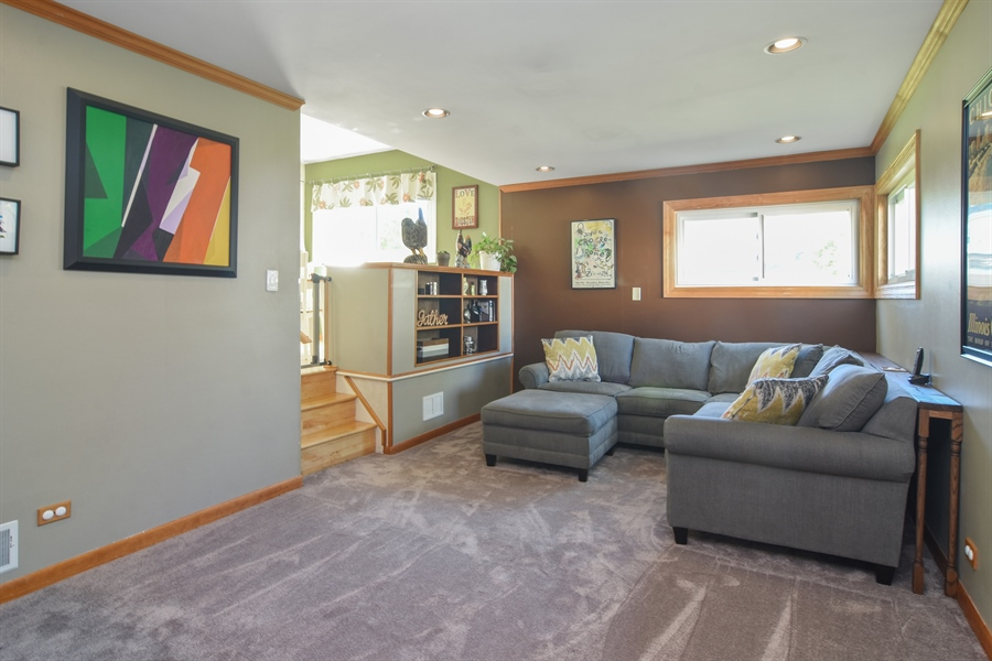 Real Estate Photography - 234 N. Norman Drive, Palatine, IL, 60074 - Family Room