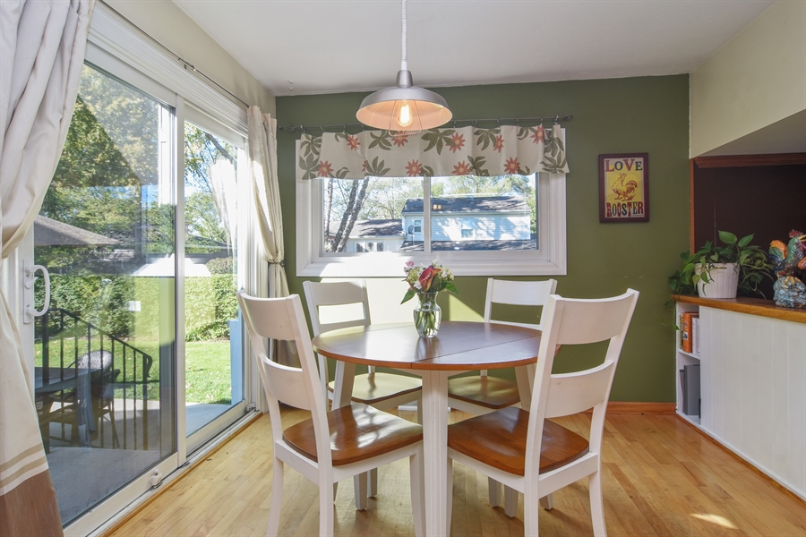 Real Estate Photography - 234 N. Norman Drive, Palatine, IL, 60074 - Breakfast Nook