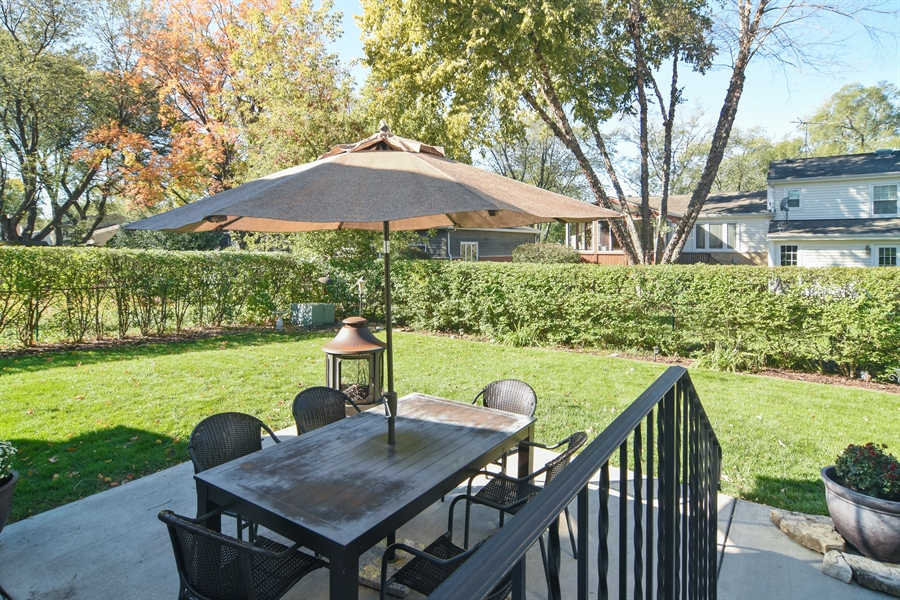 Real Estate Photography - 234 N. Norman Drive, Palatine, IL, 60074 - Patio