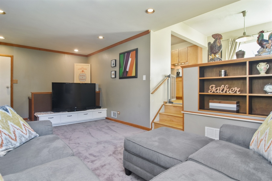 Real Estate Photography - 234 N. Norman Drive, Palatine, IL, 60074 - Family Room / Kitchen