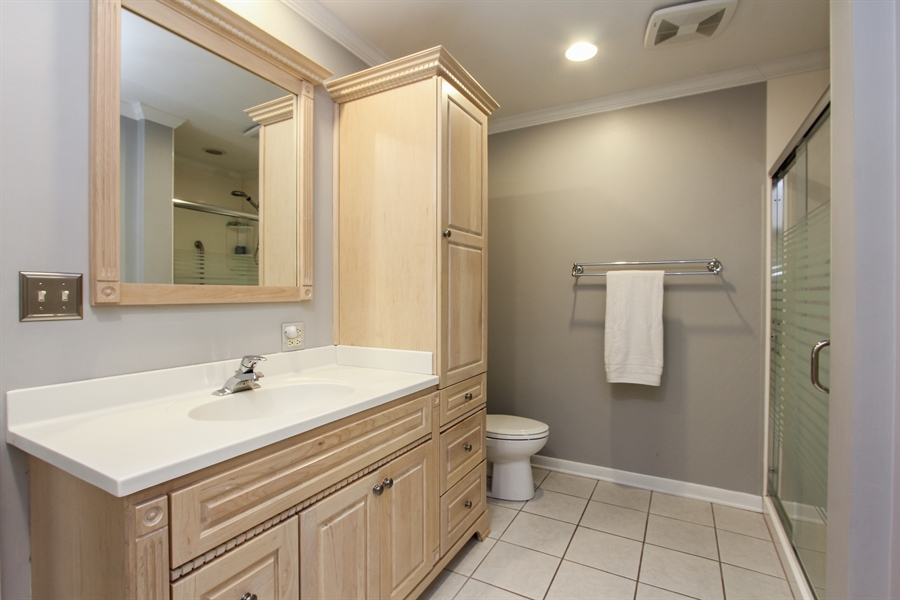 Real Estate Photography - 1127 Fairlawn Avenue, Libertyville, IL, 60048 - Master Bathroom