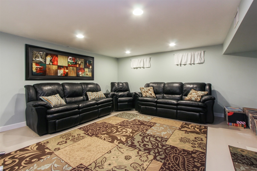 Real Estate Photography - 1127 Fairlawn Avenue, Libertyville, IL, 60048 - Basement