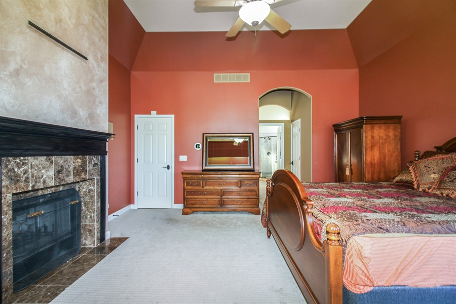 Real Estate Photography - 1084 CHADWICK Court, Aurora, IL, 60502 - Master Bedroom