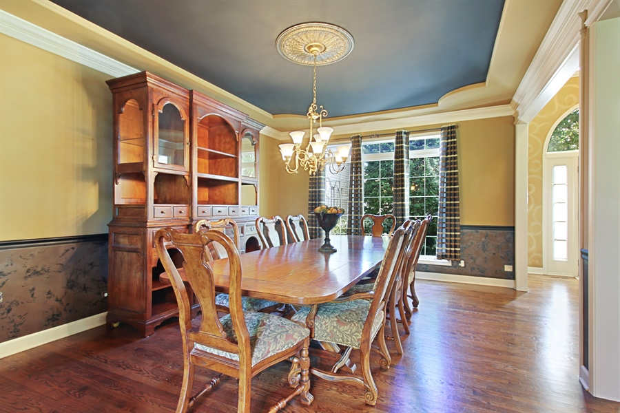 Real Estate Photography - 1084 CHADWICK Court, Aurora, IL, 60502 - Dining Room