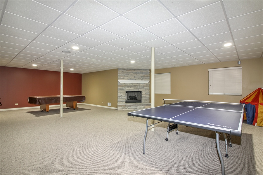 Real Estate Photography - 1084 CHADWICK Court, Aurora, IL, 60502 - Basement