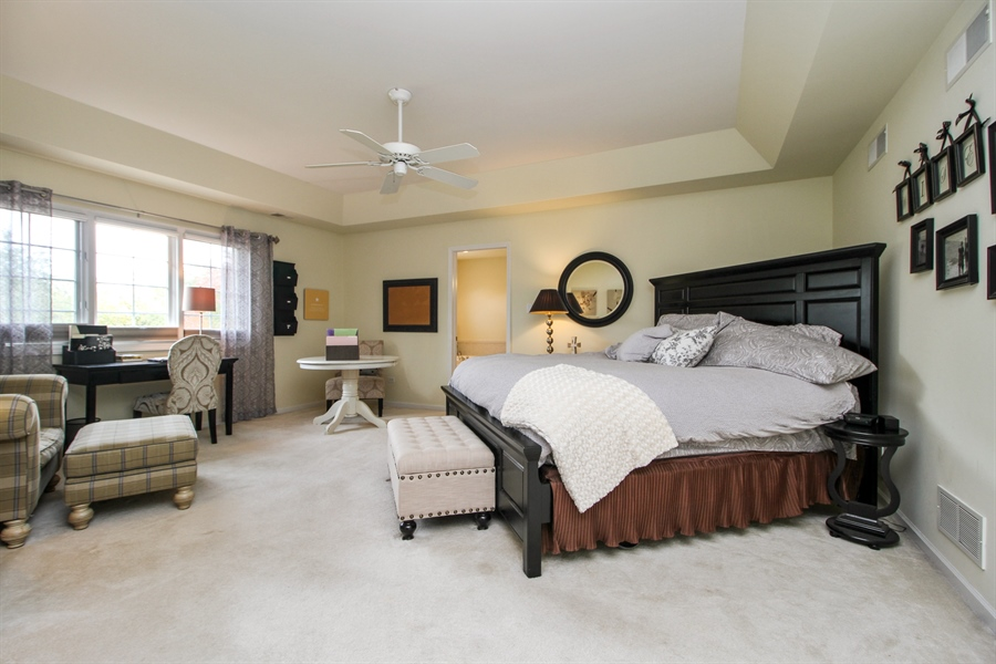 Real Estate Photography - 11313 Stoll Road, Frankfort, IL, 60423 - Master Bedroom