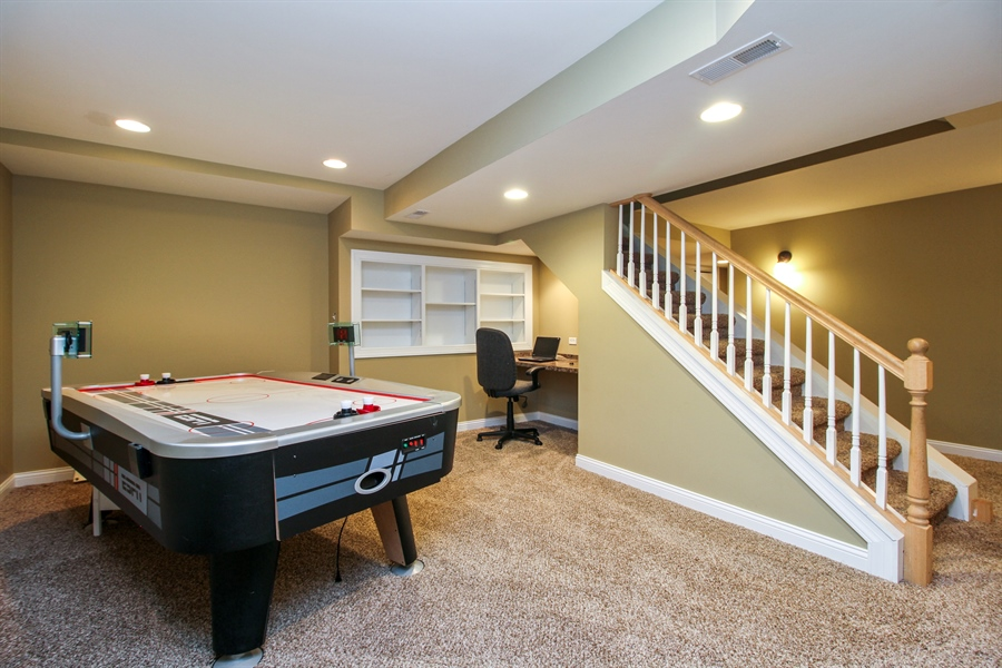Real Estate Photography - 11313 Stoll Road, Frankfort, IL, 60423 - Lower Level