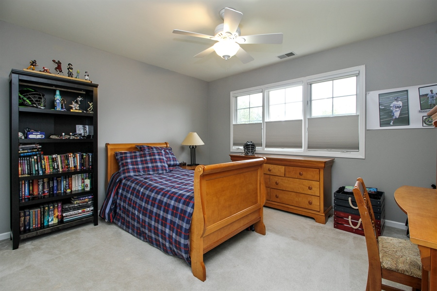 Real Estate Photography - 11313 Stoll Road, Frankfort, IL, 60423 - Bedroom
