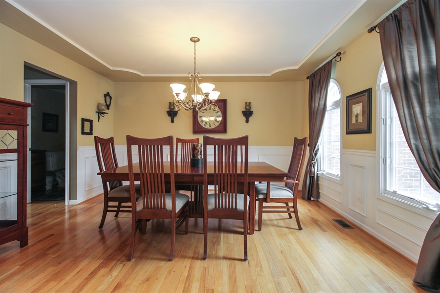 Real Estate Photography - 11313 Stoll Road, Frankfort, IL, 60423 - Dining Room