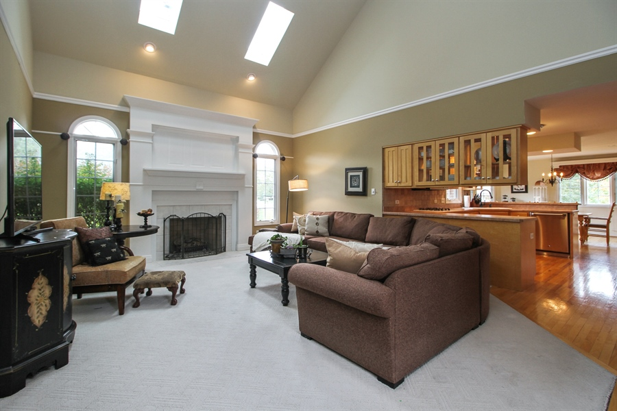 Real Estate Photography - 11313 Stoll Road, Frankfort, IL, 60423 - Family Room
