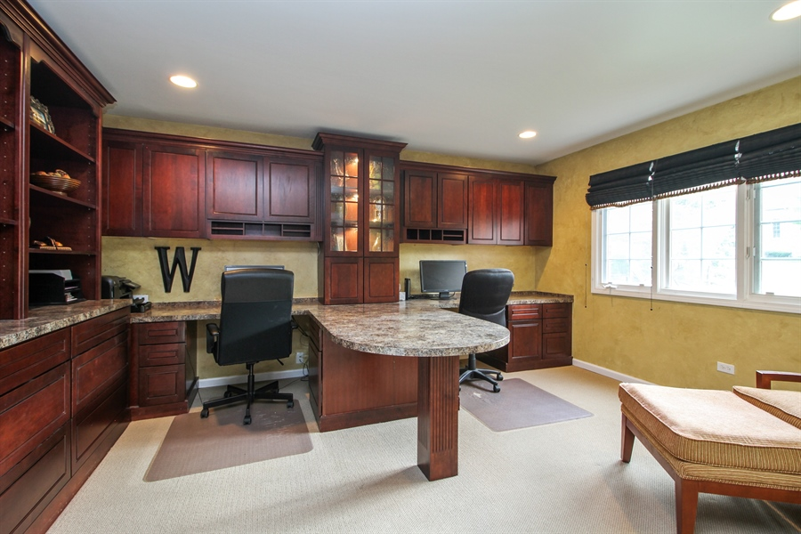 Real Estate Photography - 11313 Stoll Road, Frankfort, IL, 60423 - Office