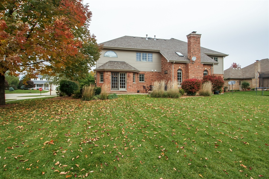 Real Estate Photography - 11313 Stoll Road, Frankfort, IL, 60423 - Rear View