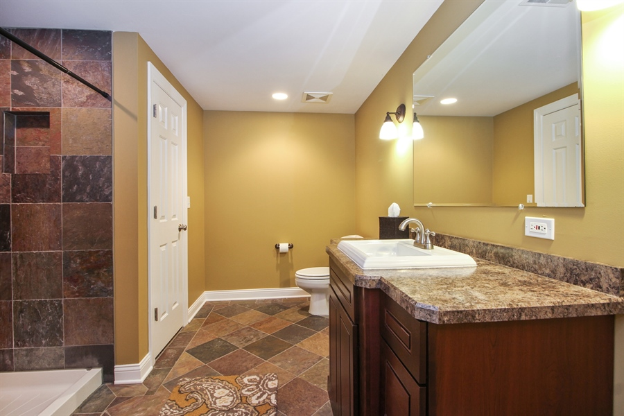 Real Estate Photography - 11313 Stoll Road, Frankfort, IL, 60423 - Bathroom