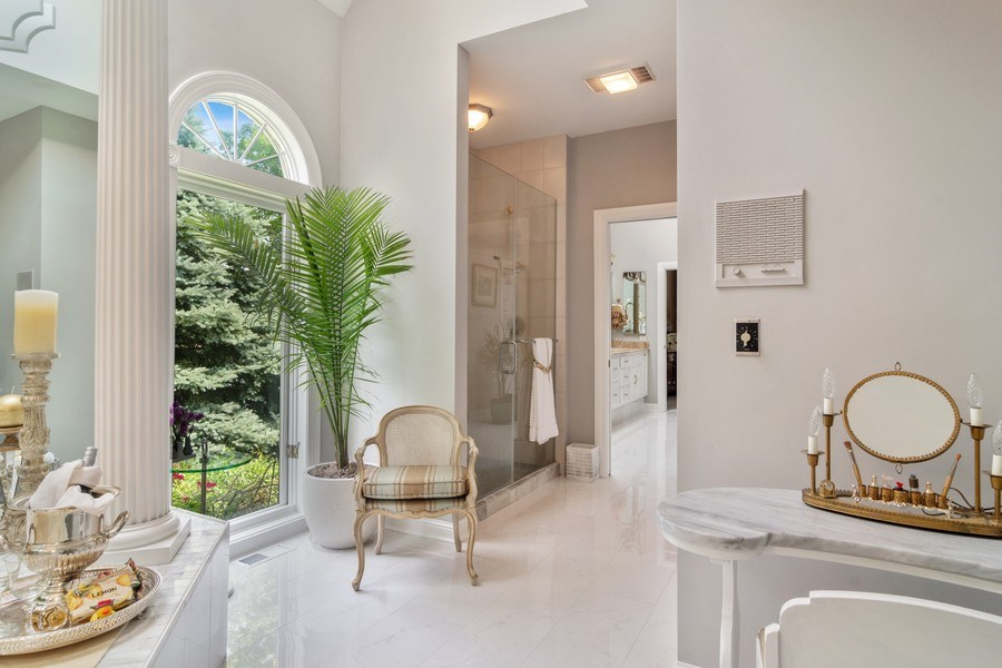 Real Estate Photography - 1411 Carlisle Drive, Barrington, IL, 60010 - Master Dressing Area