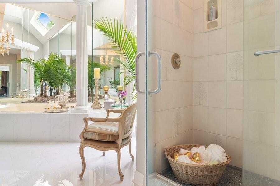 Real Estate Photography - 1411 Carlisle Drive, Barrington, IL, 60010 - Master Shower