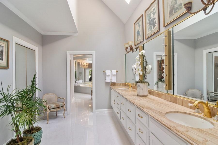 Real Estate Photography - 1411 Carlisle Drive, Barrington, IL, 60010 - Master Bathroom