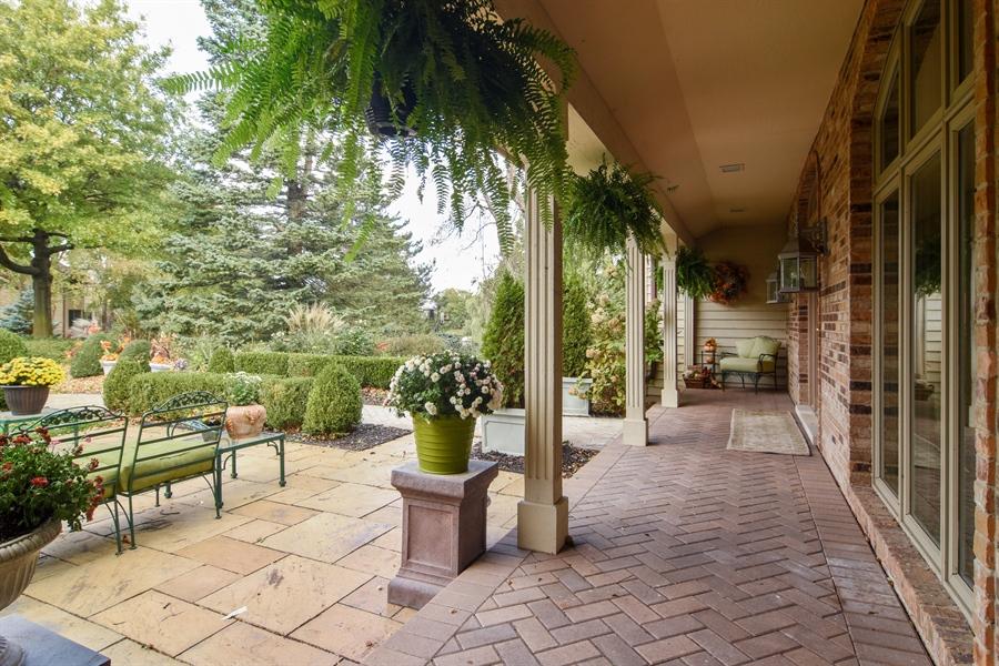 Real Estate Photography - 1411 Carlisle Drive, Barrington, IL, 60010 - Front Porch View