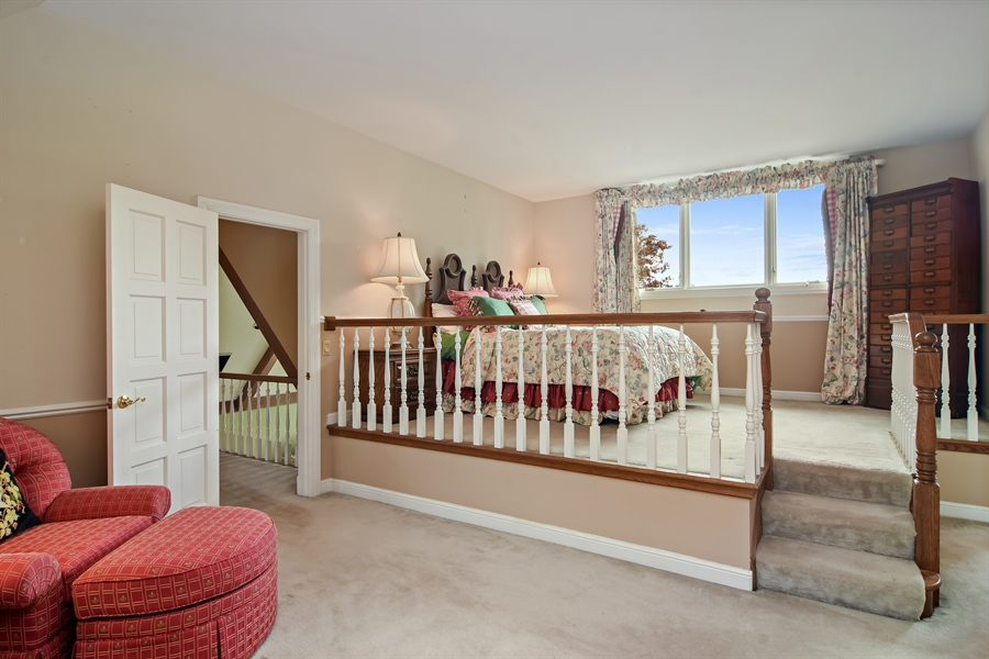 Real Estate Photography - 1411 Carlisle Drive, Barrington, IL, 60010 - En-Suite Bedroom 4