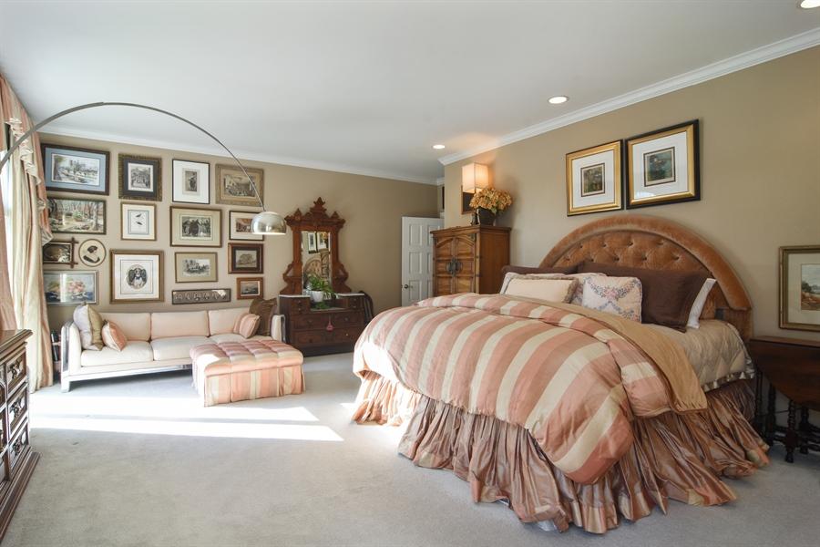 Real Estate Photography - 1411 Carlisle Drive, Barrington, IL, 60010 - Master Bedroom