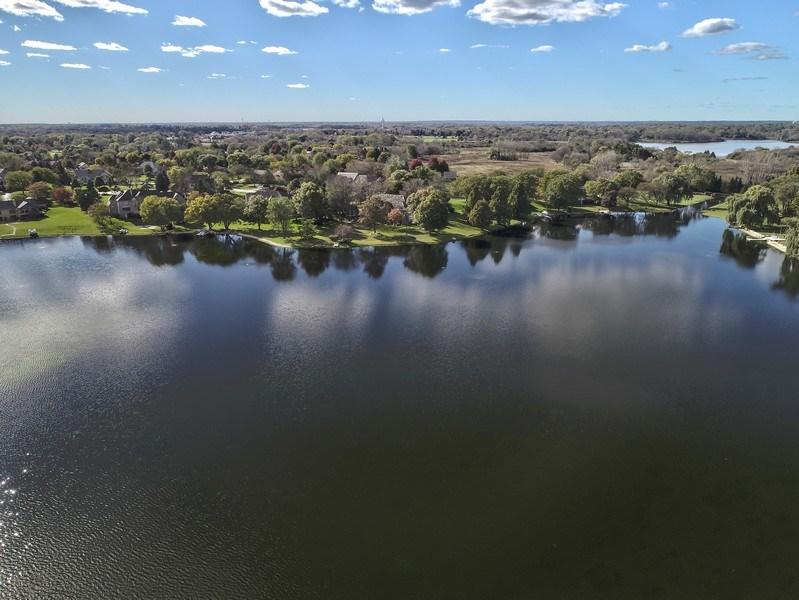 Real Estate Photography - 1411 Carlisle Drive, Barrington, IL, 60010 - Serene Lake