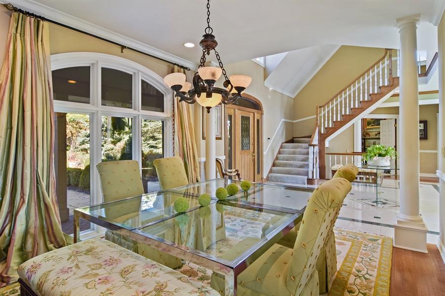 Real Estate Photography - 1411 Carlisle Drive, Barrington, IL, 60010 - Dining Room