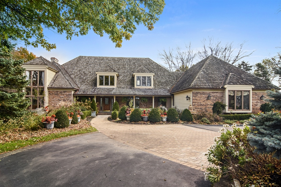 Real Estate Photography - 1411 Carlisle Drive, Barrington, IL, 60010 - Front View