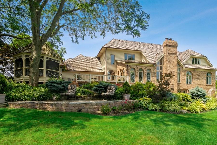 Real Estate Photography - 1411 Carlisle Drive, Barrington, IL, 60010 - Rear View