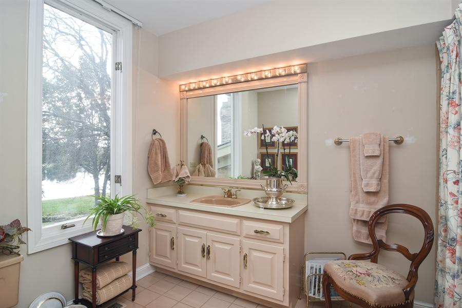 Real Estate Photography - 1411 Carlisle Drive, Barrington, IL, 60010 - En-Suite Bath