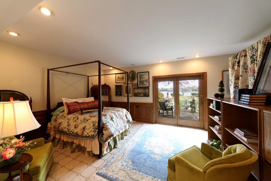 Real Estate Photography - 1411 Carlisle Drive, Barrington, IL, 60010 - Bedroom 5 with Walk Out