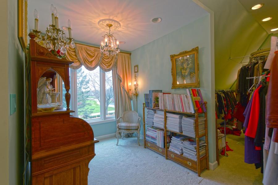 Real Estate Photography - 1411 Carlisle Drive, Barrington, IL, 60010 - Studio Office
