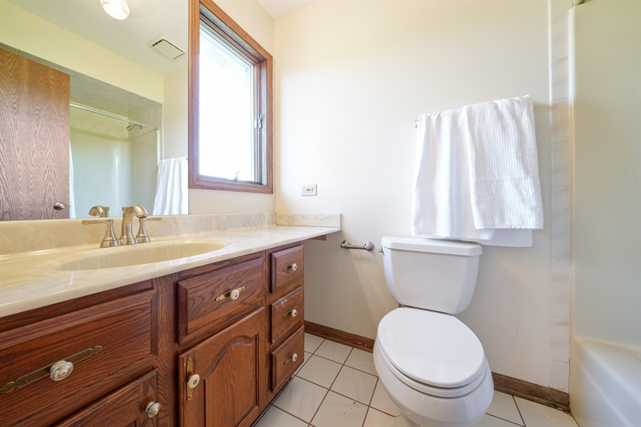 Real Estate Photography - 46 Windsor Drive, Oak Brook, IL, 60523 - 3rd Bathroom