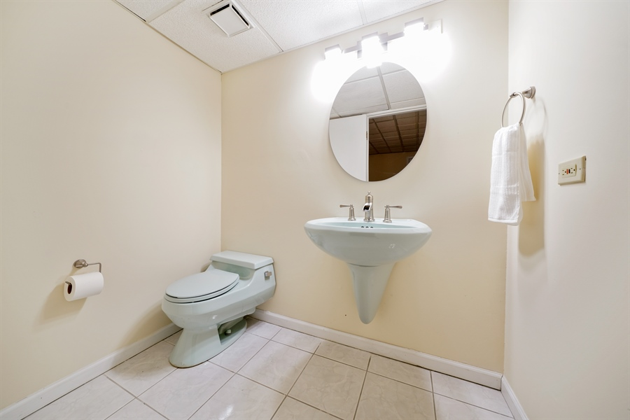 Real Estate Photography - 46 Windsor Drive, Oak Brook, IL, 60523 - Powder Room
