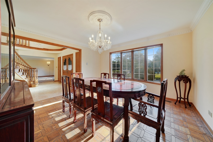 Real Estate Photography - 46 Windsor Drive, Oak Brook, IL, 60523 - Dining Room