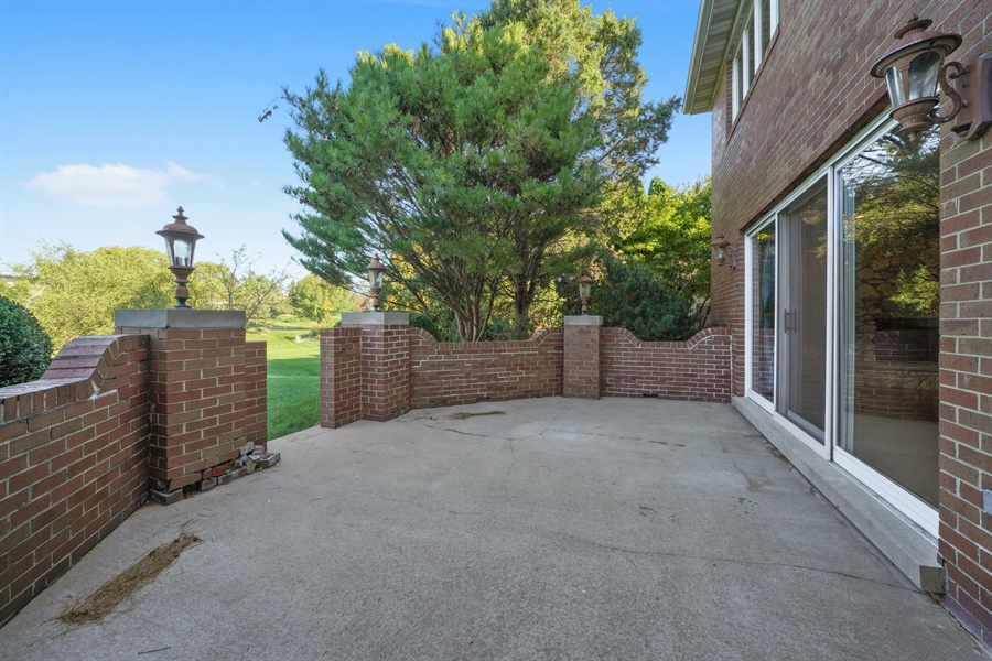 Real Estate Photography - 46 Windsor Drive, Oak Brook, IL, 60523 - Patio