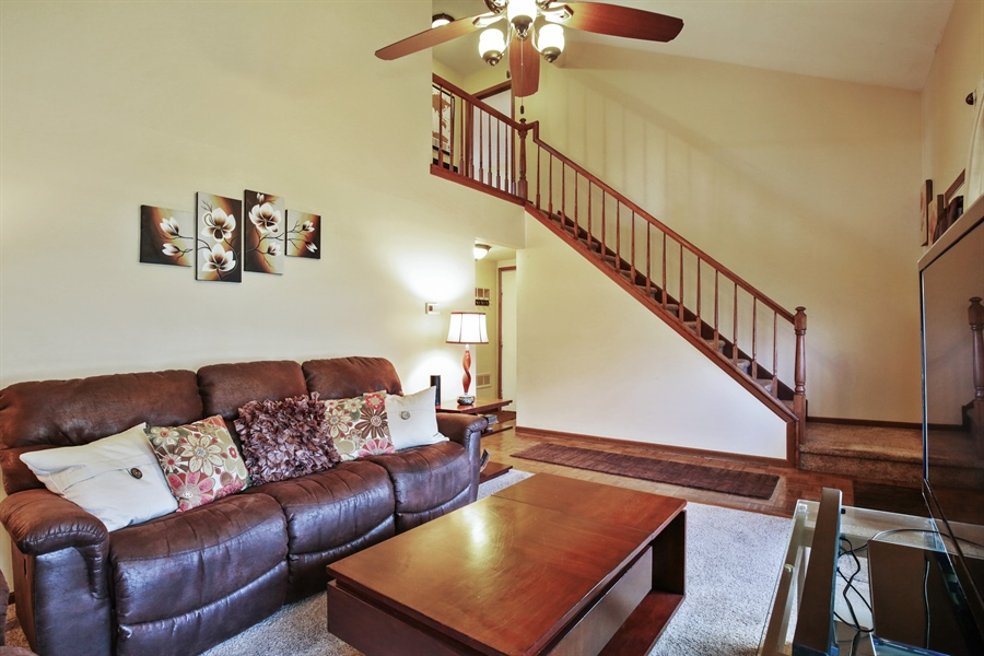 Real Estate Photography - 1715 Riverwood Drive, Algonquin, IL, 60102 - Living Room