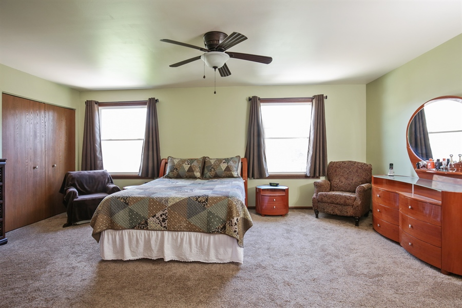 Real Estate Photography - 1715 Riverwood Drive, Algonquin, IL, 60102 - Master Bedroom