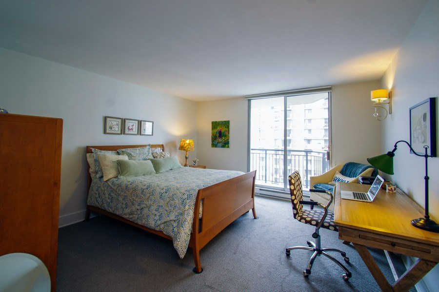 Real Estate Photography - 6007 N. Sheridan Road, Unit 38DF, Chicago, IL, 60660 - 2nd Bedroom