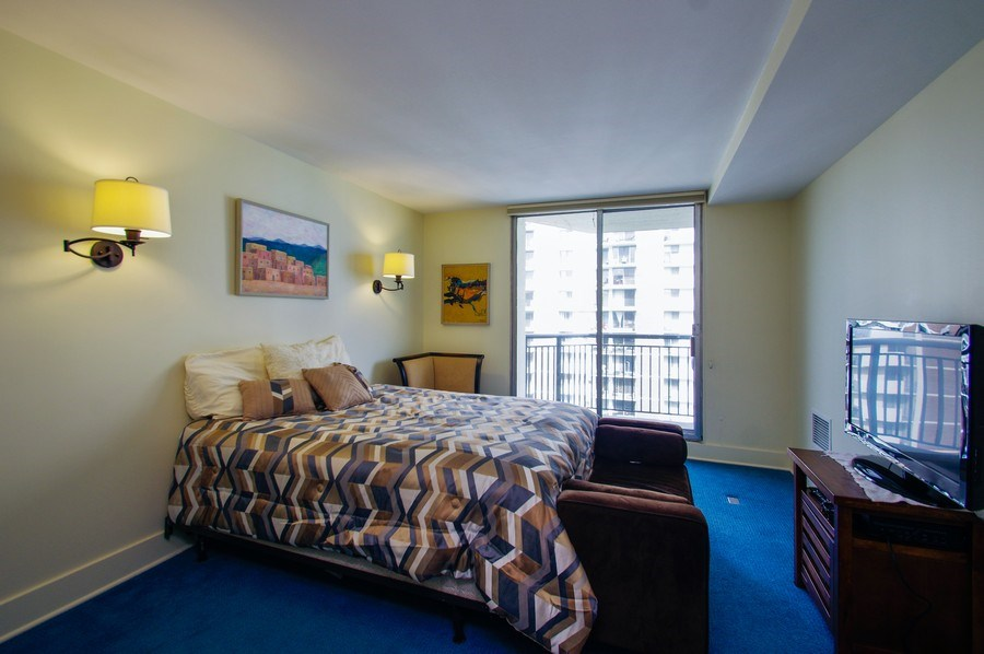 Real Estate Photography - 6007 N. Sheridan Road, Unit 38DF, Chicago, IL, 60660 - 3rd Bedroom
