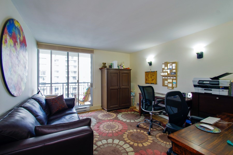 Real Estate Photography - 6007 N. Sheridan Road, Unit 38DF, Chicago, IL, 60660 - 4th Bedroom