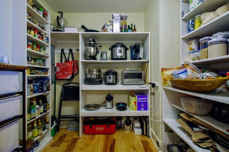 Real Estate Photography - 6007 N. Sheridan Road, Unit 38DF, Chicago, IL, 60660 - Pantry