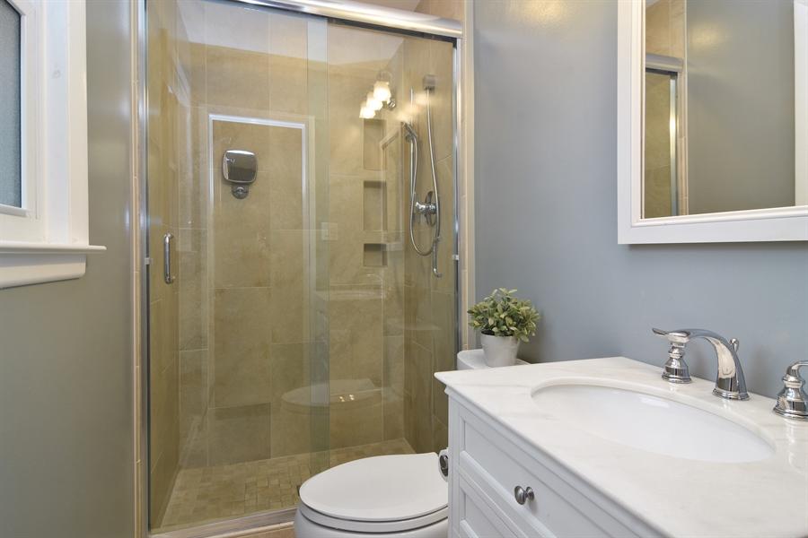 Real Estate Photography - 1327 E. Norman Drive, Palatine, IL, 60074 - Master Bathroom