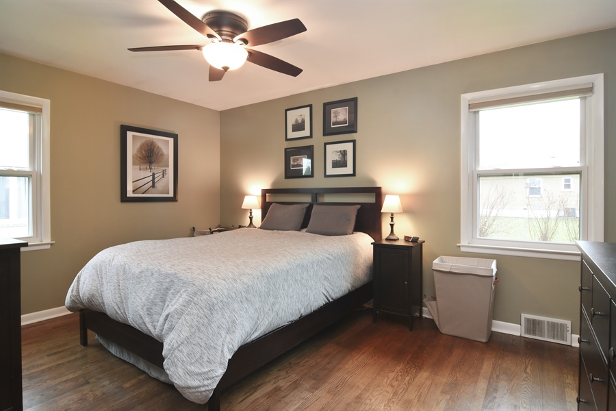 Real Estate Photography - 1327 E. Norman Drive, Palatine, IL, 60074 - Master Bedroom